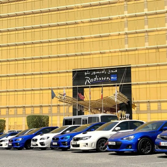 Subaru lovers get to see newly released BRZ at special ceremony