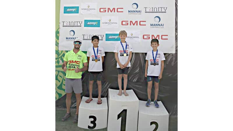 GMC Tri-Series Race 1 winners announced