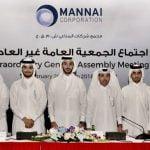 MANNAI CORPORATION's PRE-TAX PROFIT UP BY  3% TO QR 553 MILLION ON REVENUE OF QR 7 BILLION
